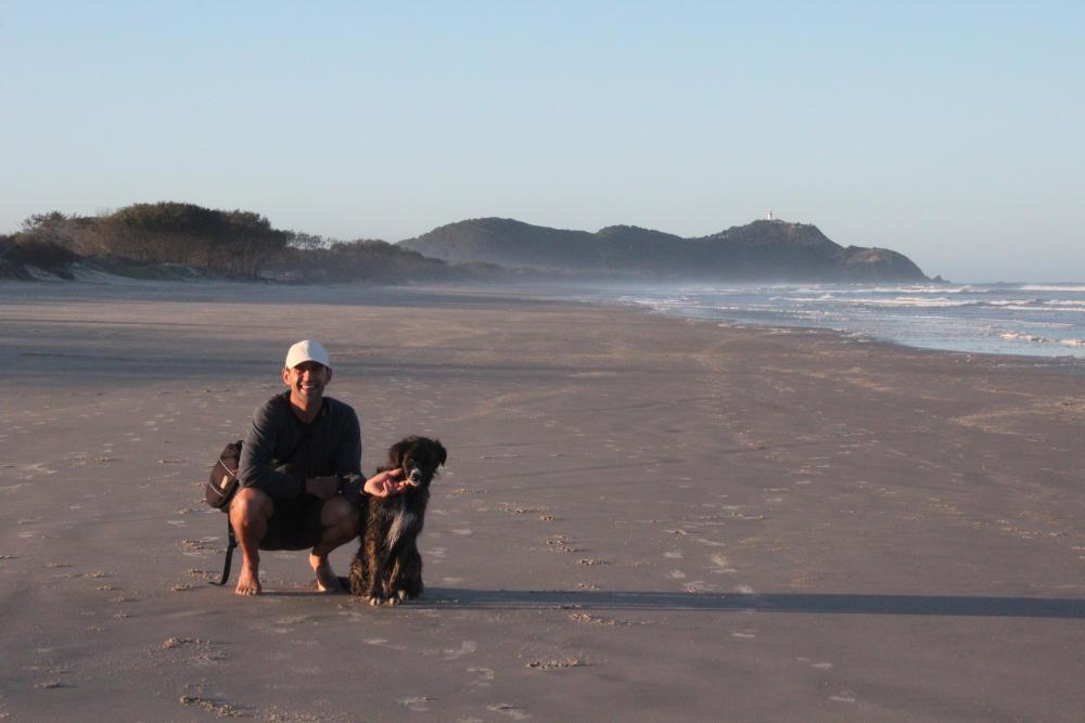 Denis dresseur de chien à la Réunion